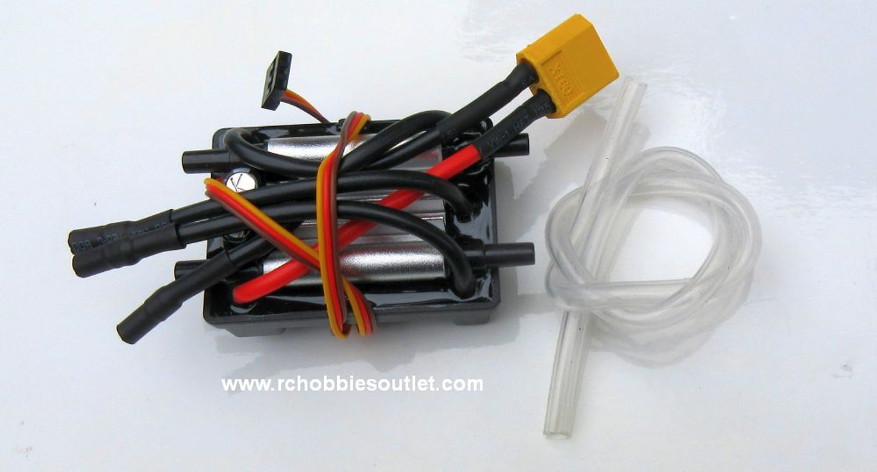 820902 30A Water Cooled Brushless ESC with XT60  for -Mad Flow  V3  and Rocket V3 RC Boats