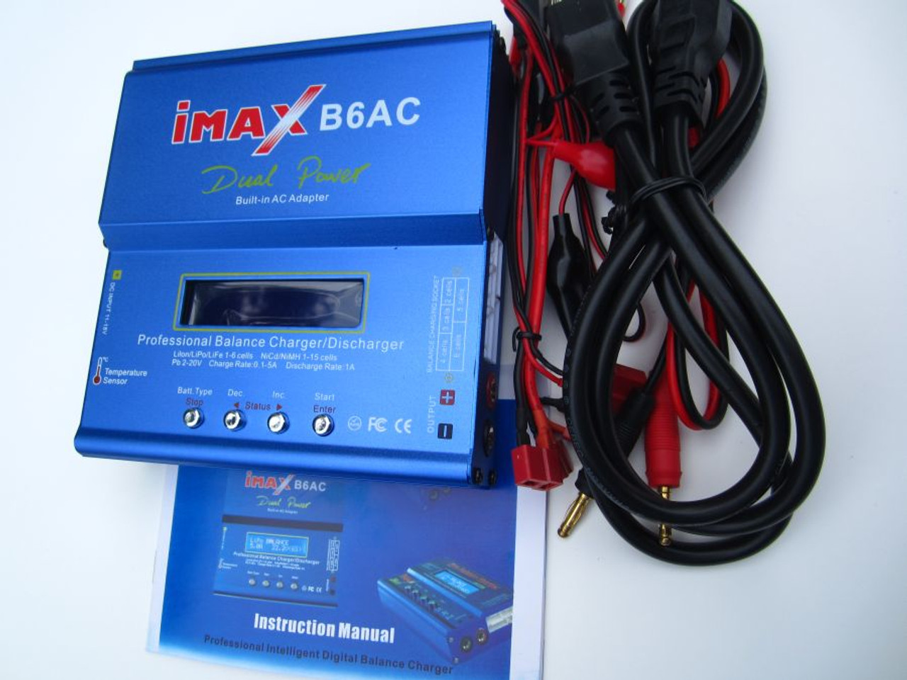 IMAX B6AC RC Charger NIMH  & LIPO Balance Microprocessor Control Fast Charger