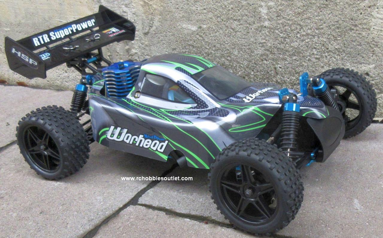 RC Nitro Gas  Buggy / RC Car  HSP WARHEAD 2 Speed 2.4G 1/10 RACE 10070-1