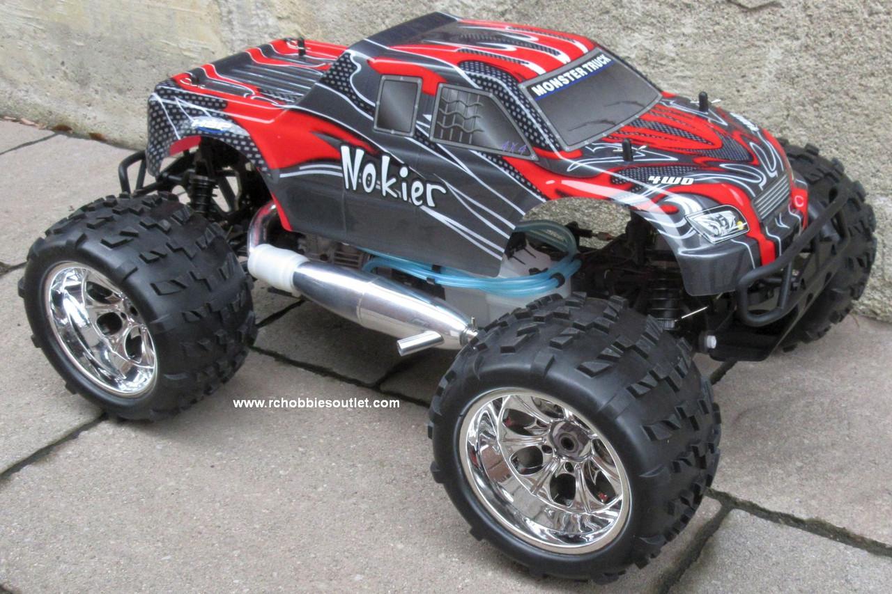 Nitro RC Truck 1/8 Scale   Nokier 4.57cc Engine  4WD 2 Speed  2.4G 08311