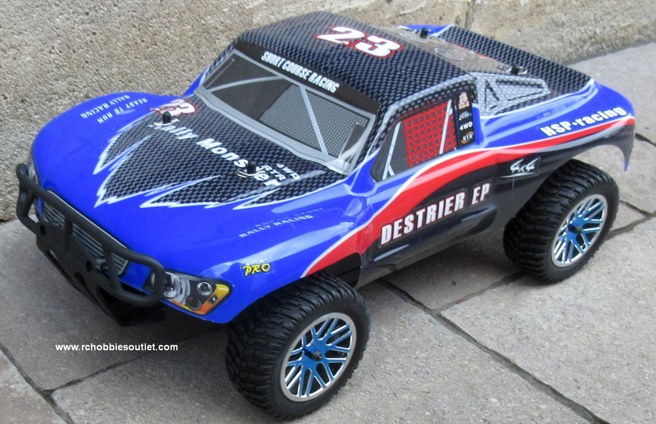RC Short Course Truck Brushless Electric 1/10 LIPO 4WD 2.4G RTR 15591