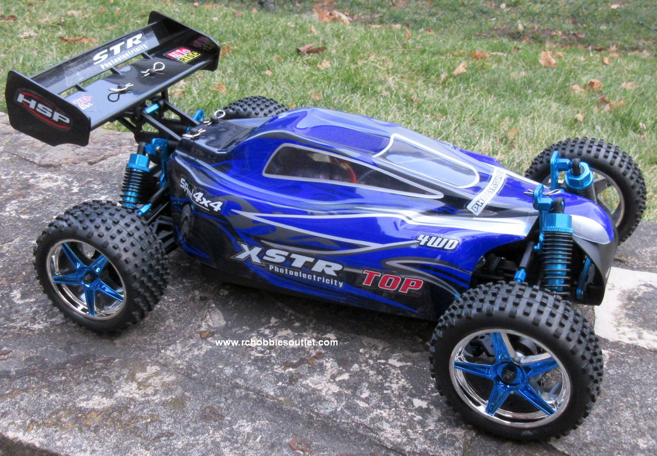 RC Brushless Electric Buggy / Car HSP 1/10 Scale XSTR-TOP2 LIPO  2.4G 10734