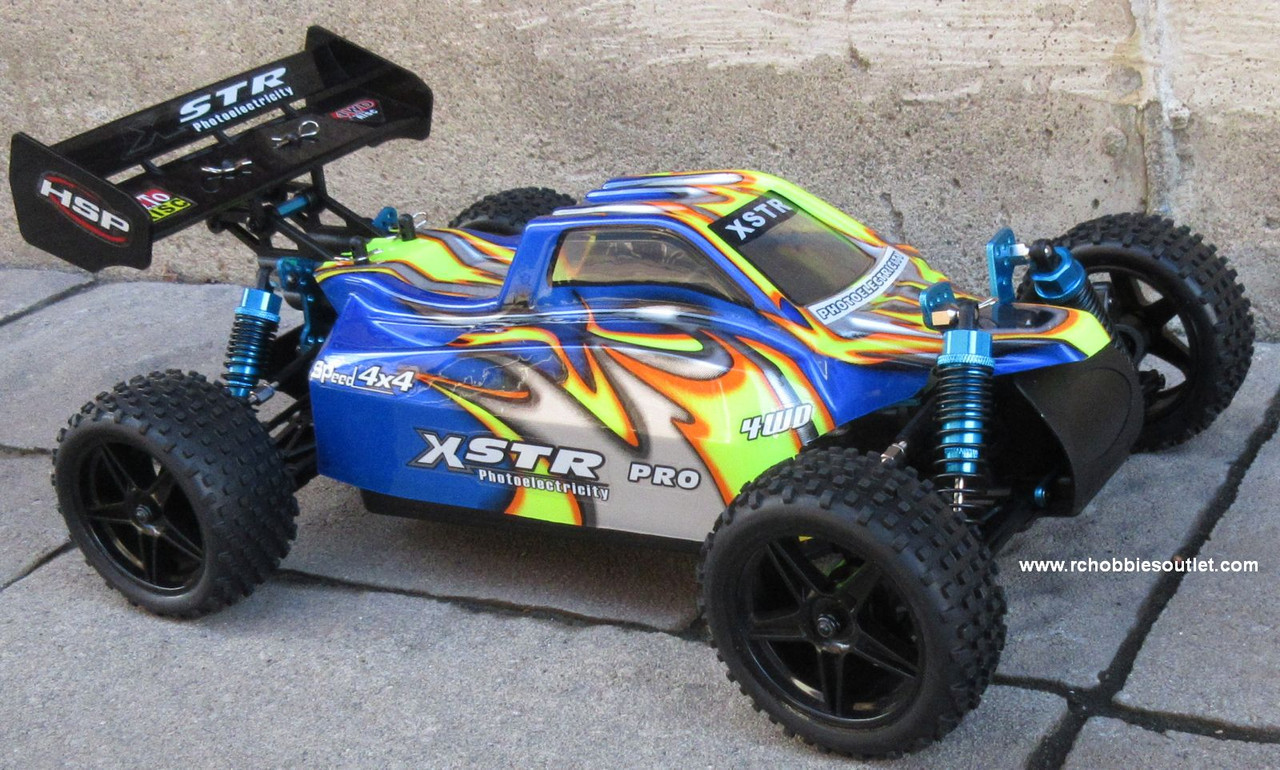 RC Buggy / Car  Brushless Electric HSP 1/10  XSTR-PRO LIPO 2.4G 4WD 10745
