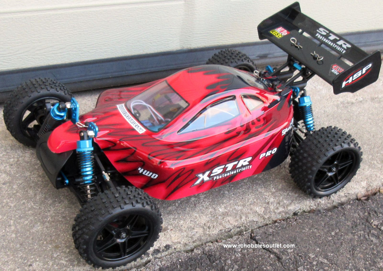 RC Buggy / Car  Brushless Electric HSP 1/10  XSTR-PRO LIPO 2.4G 4WD 88802