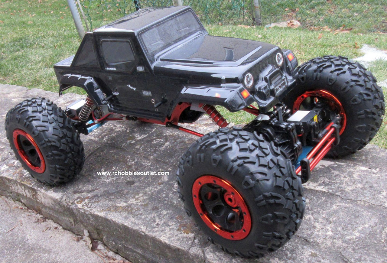 RC Rock  Crawler Truck 1/8 Scale T2  Electric 4 Wheel Steering 4WD  2.4G 06710