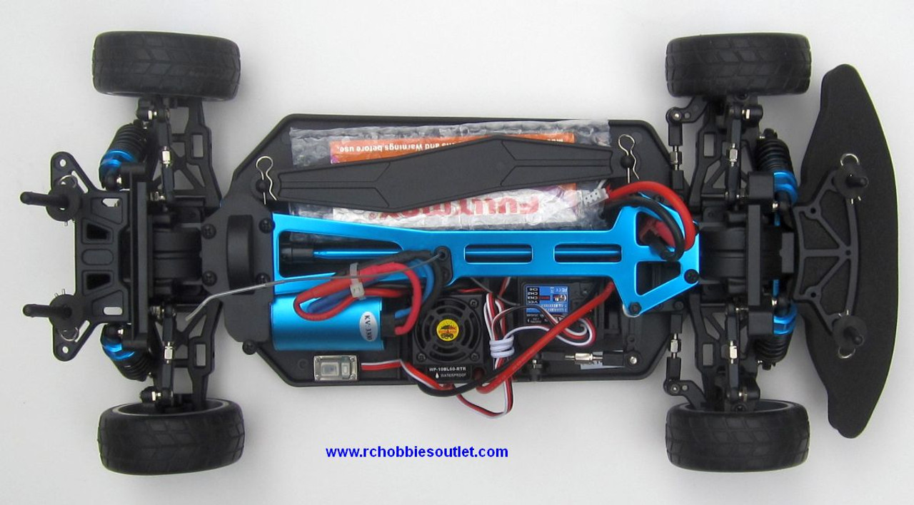 RC  Race Car HSP Brushless Electric 1/10 Scale Pro LIPO  4WD 2.4G 01053