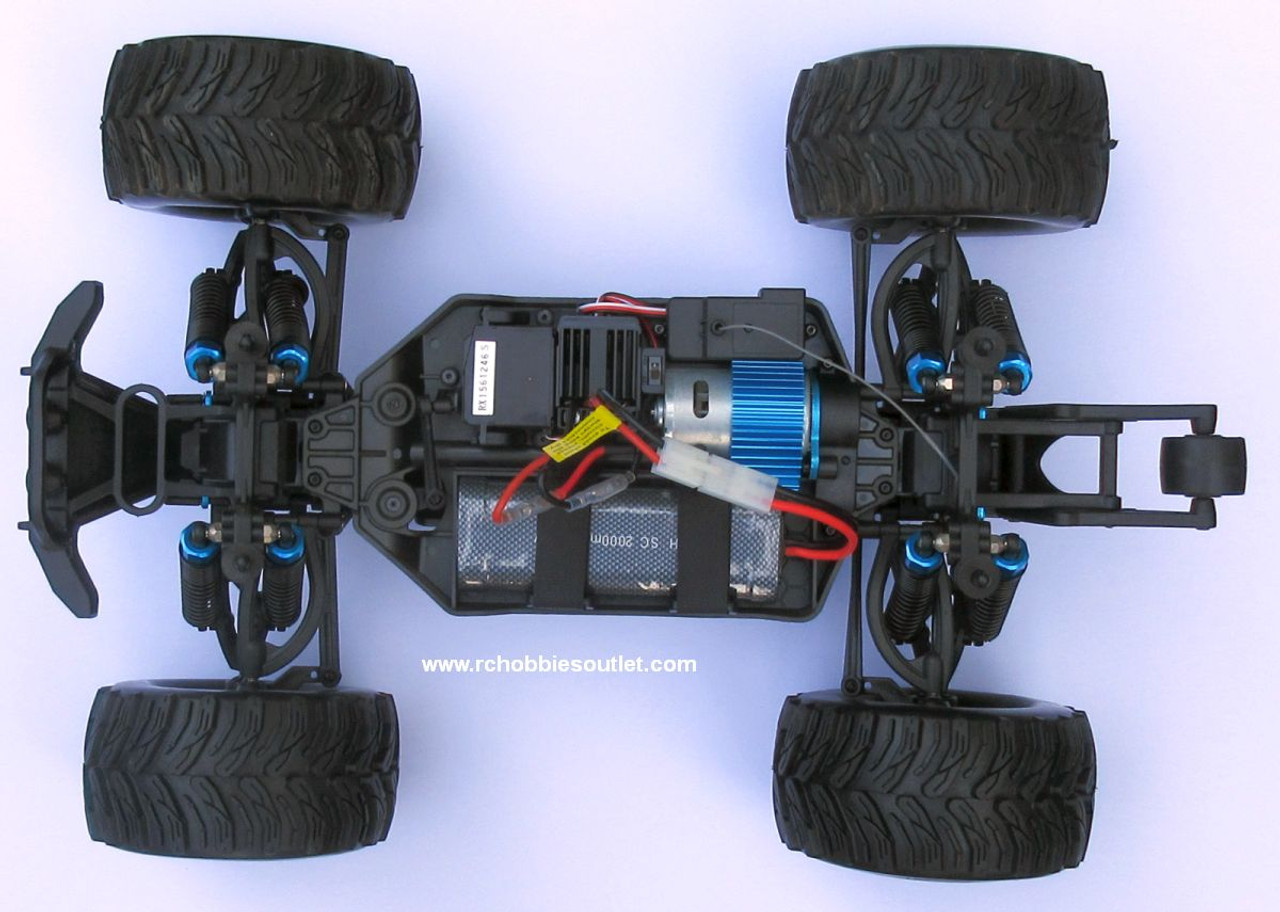 Wolverine  RC Truck Electric 1/10 Scale  4WD 2,4G 70194