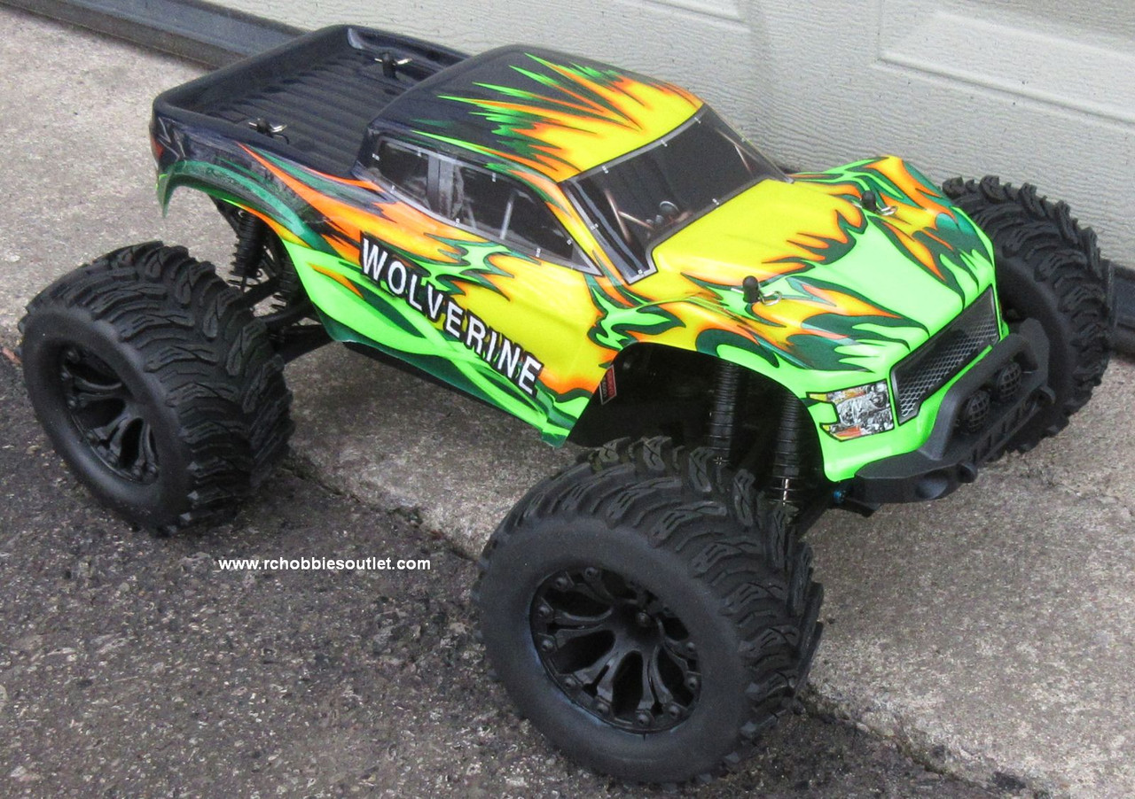 Wolverine  RC Truck Electric 1/10 Scale  4WD 2,4G 70193
