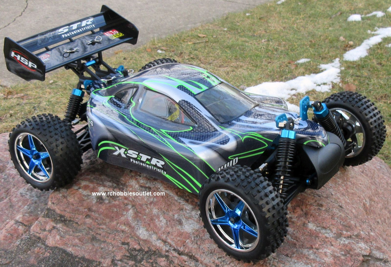 RC Car /.Buggy  Electric 1/10 Scale  2.4G 4WD  RTR  10070-1