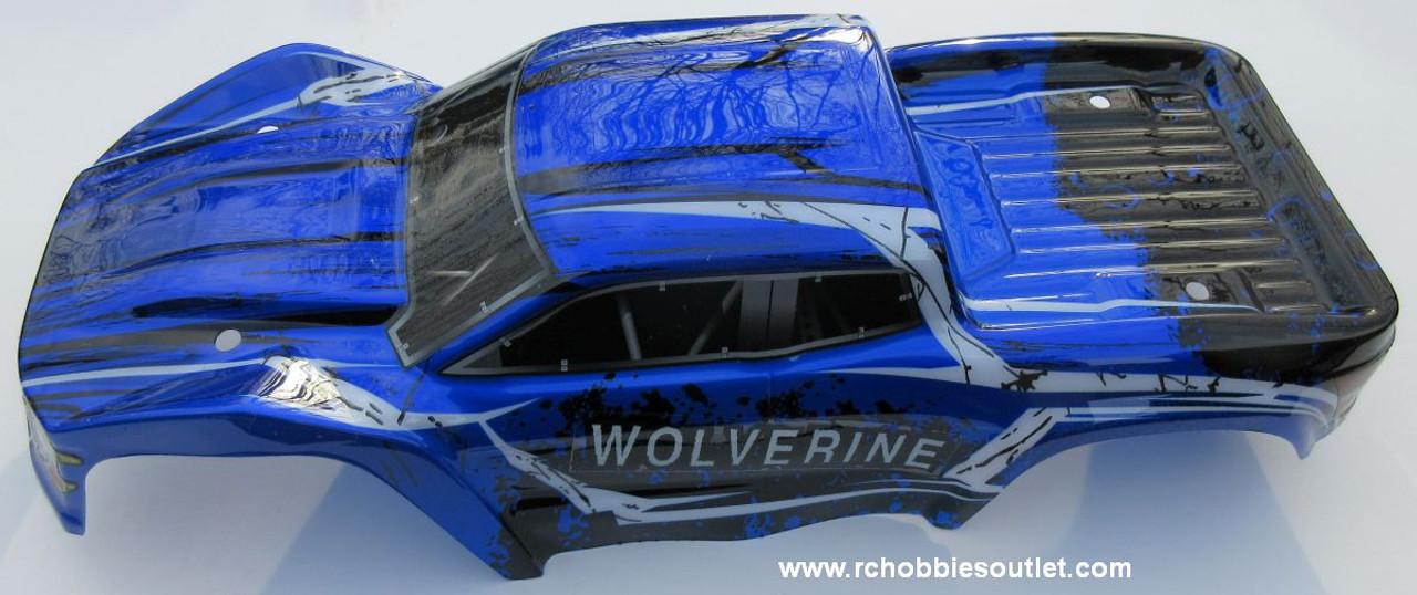 70194 Body Shell  1/10 Scale  Truck Precut  HSP