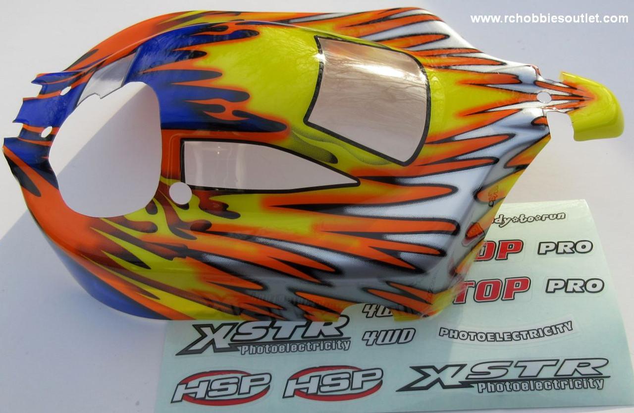 10706 HSP  RC Nitro Buggy 1/10 Scale Body Shell  precut