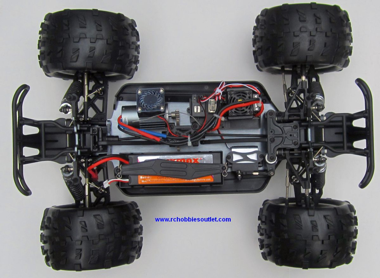 RC Monster Truck Brushless Electric TOP2 1/8 Scale  4WD  2.4G LIPO 86298