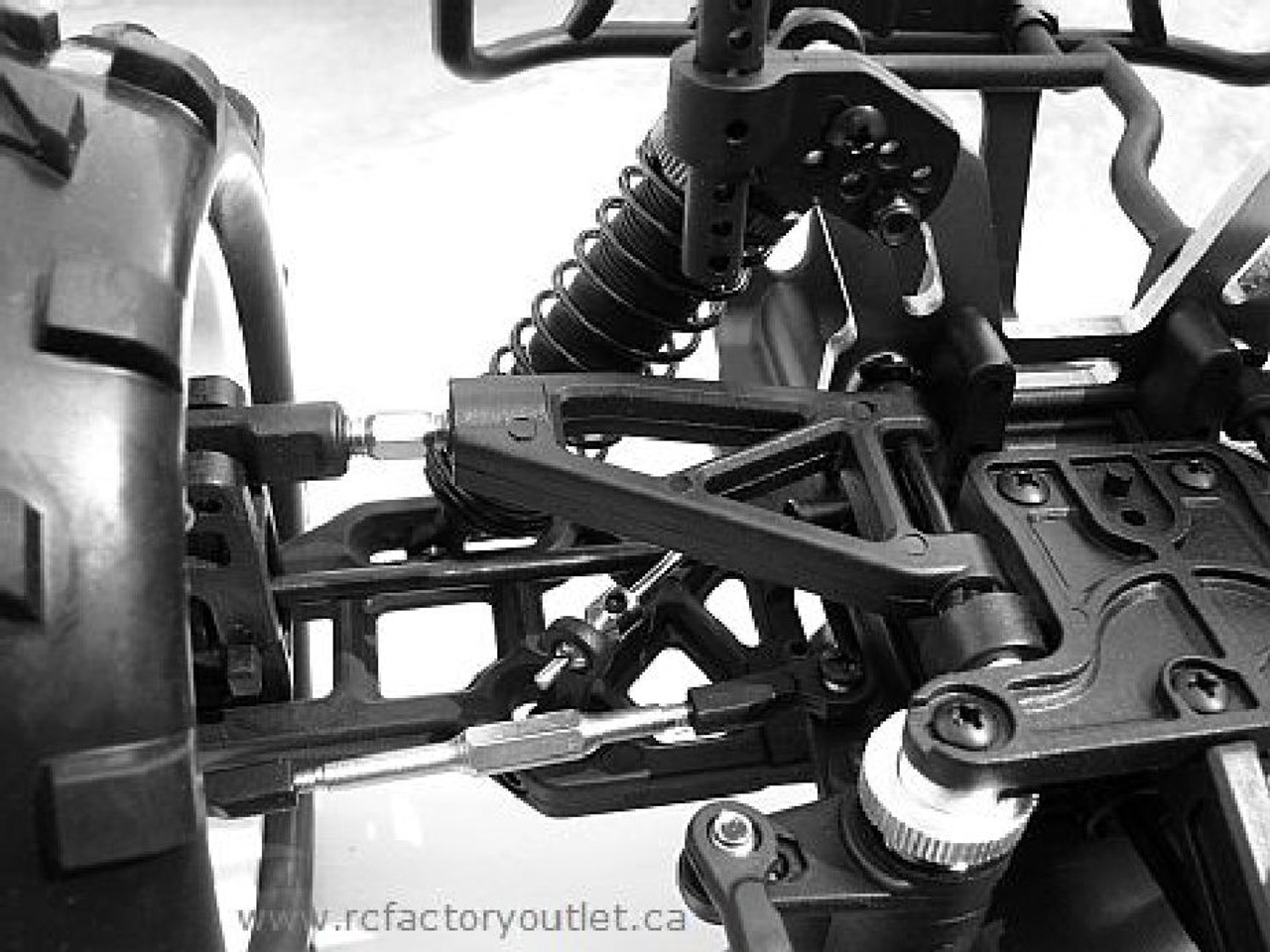 RC Nitro Truck  NOKIER 1/8 Scale Radio Control 3.5cc  4WD 2 Speed 2.4G 08311