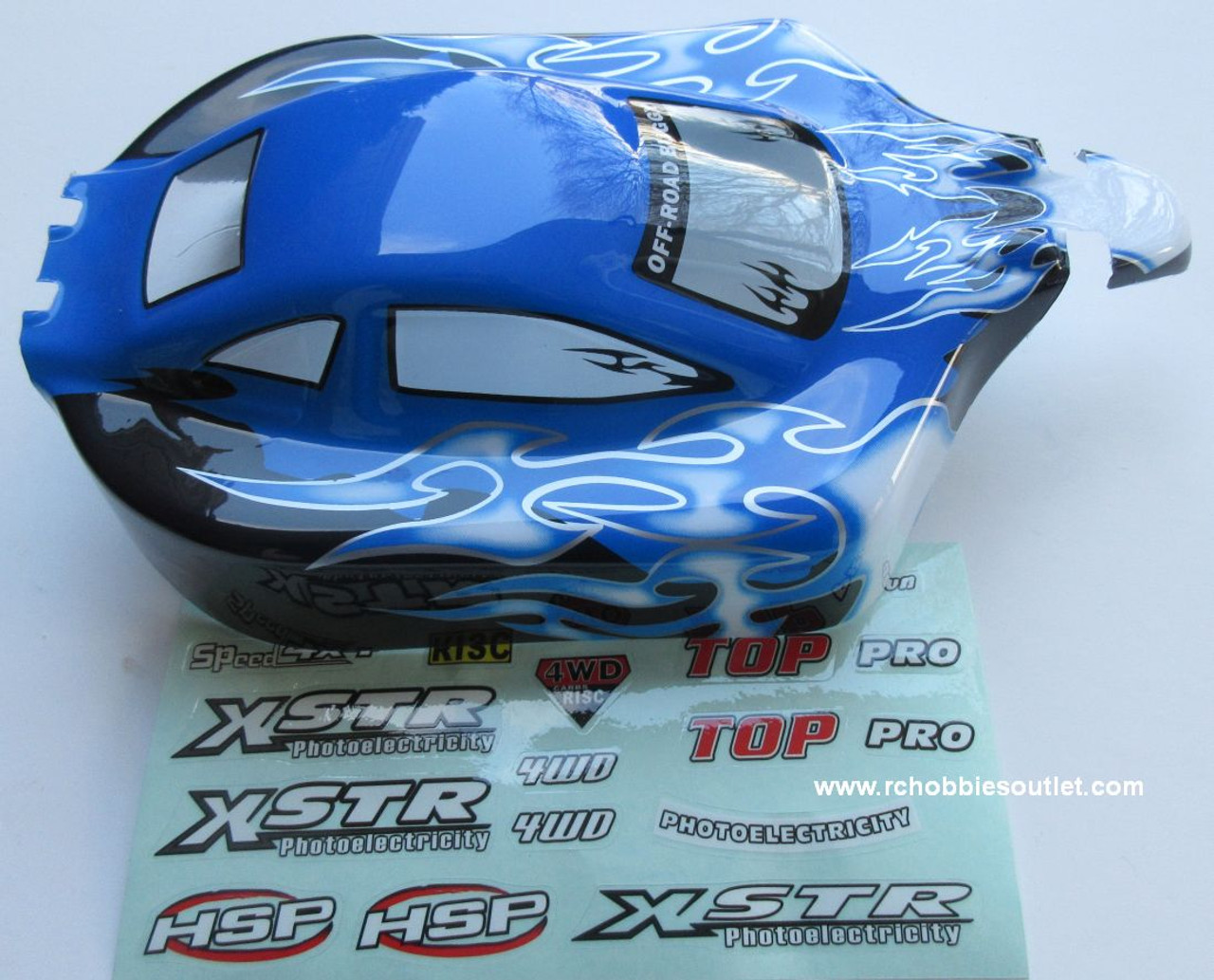 88808  HSP  RC Buggy 1/10 Scale Body Shell