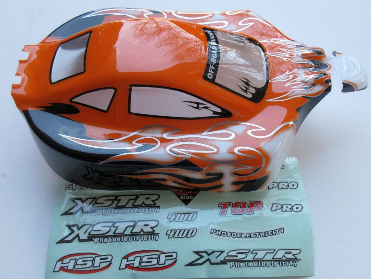 MA%  HSP  RC Buggy 1/10 Scale Body Shell