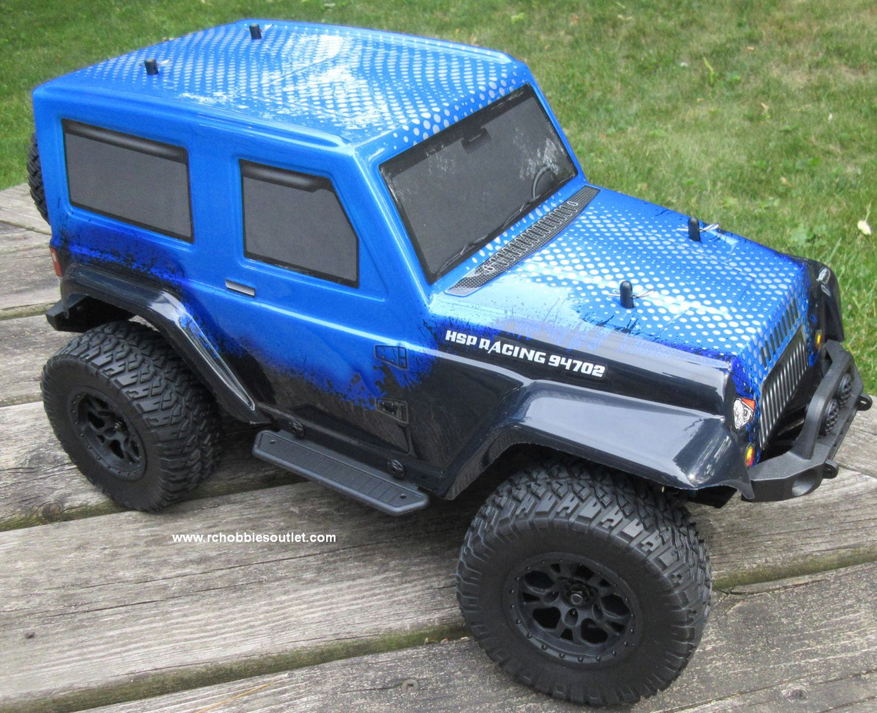 EP  Pro RC Truck Brushless Electric 1/10 4WD LIPO 2,4G Ryder Blue