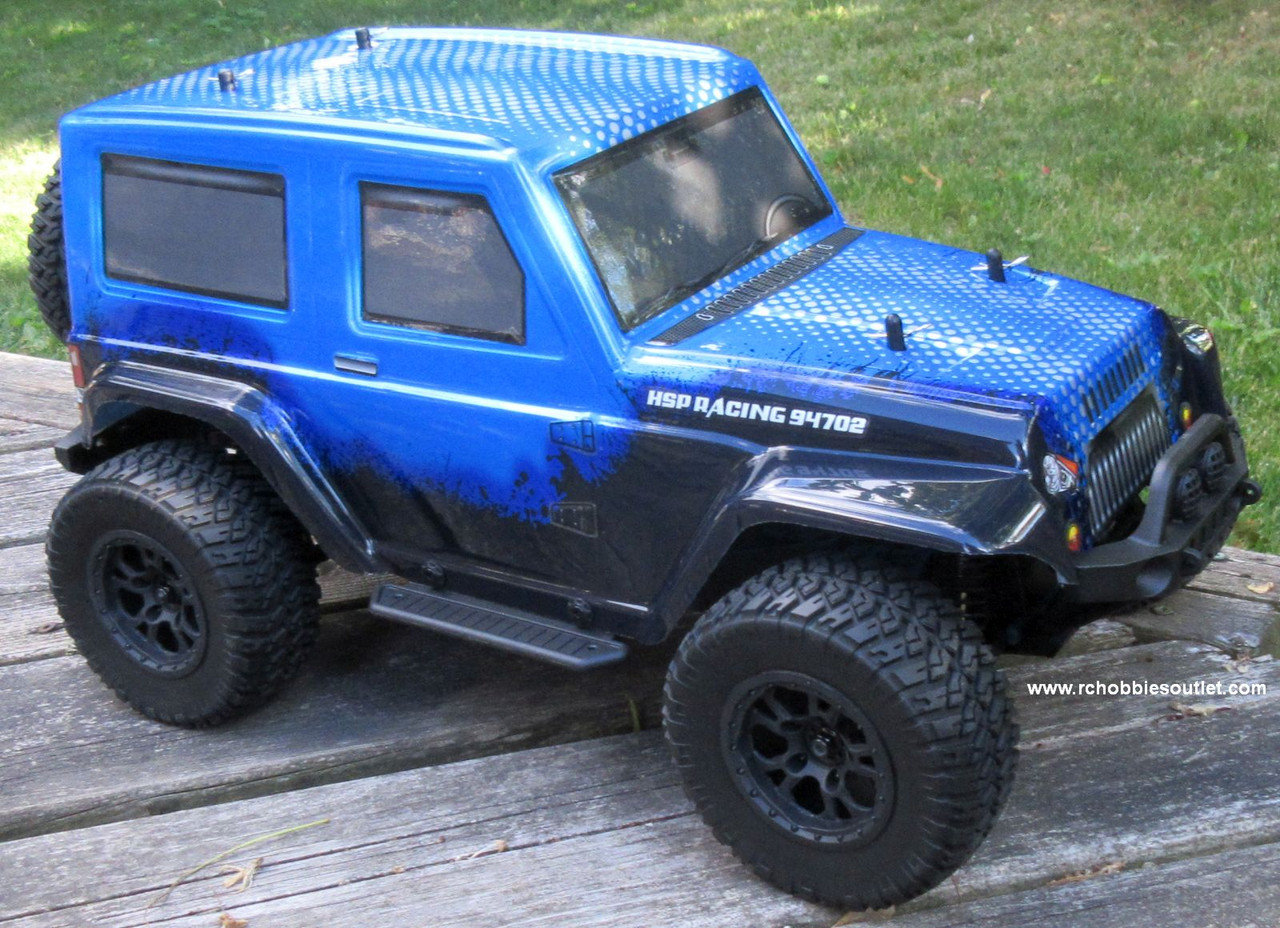 EP RC Truck Electric 1/10 Scale  4WD  2,4G RTR Ryder Blue