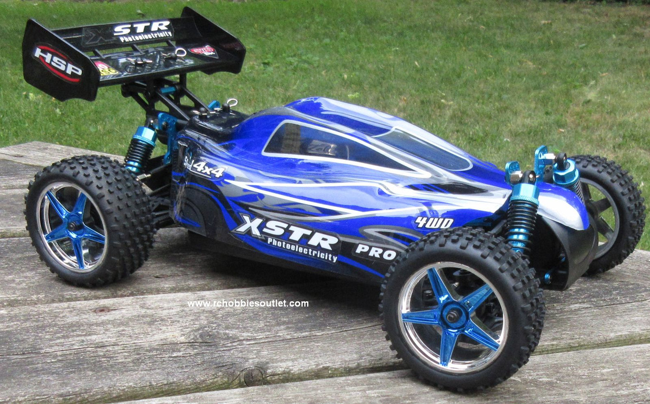 RC Buggy / Car  Brushless Electric HSP 1/10  XSTR-PRO LIPO 2.4G 4WD 10734