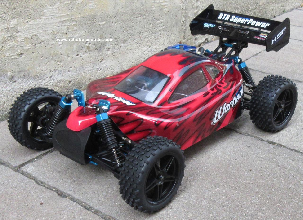 RC Nitro Buggy / RC Car  HSP WARHEAD 2 Speed 2.4G 1/10 RACE 88802