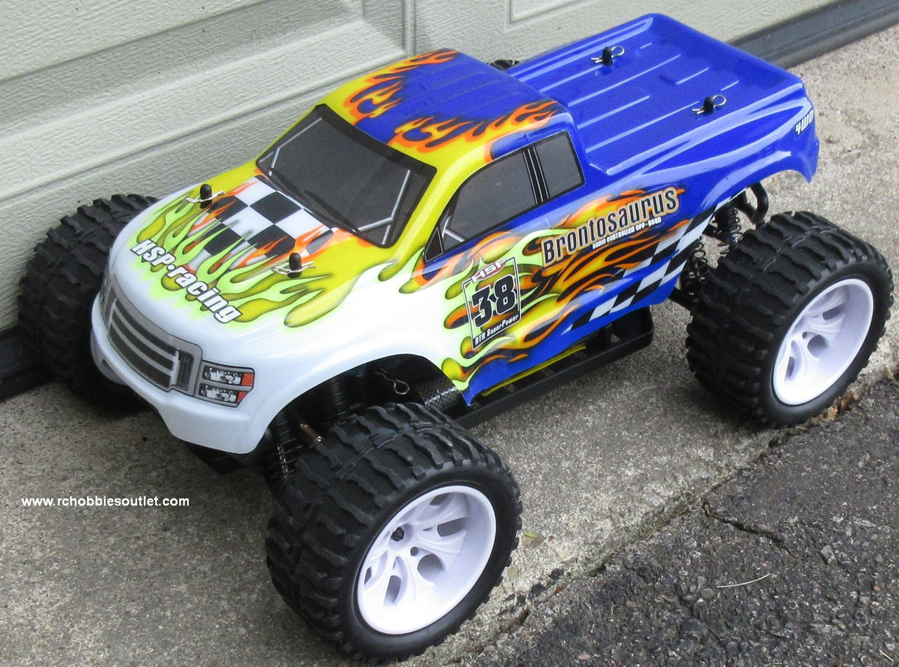 RC Truck Electric 1/10 Scale 4WD 2.4G Off- Road, RTR 88038-B