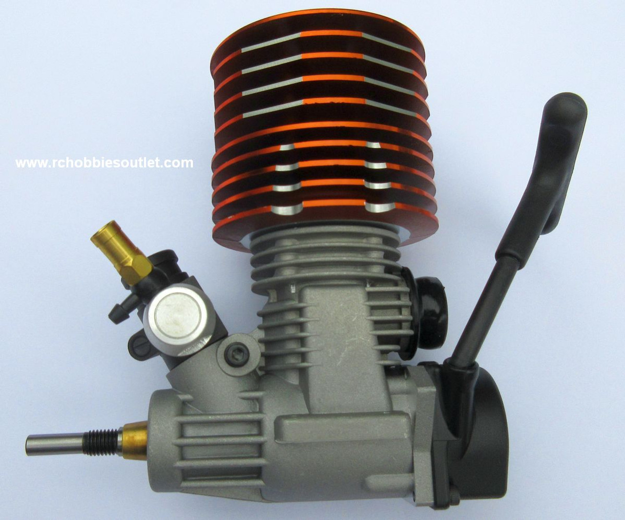 X26 Nitro RC Engine 4.25cc for 1/8 Scale with Pull-out Carburetor HSP Redcar
