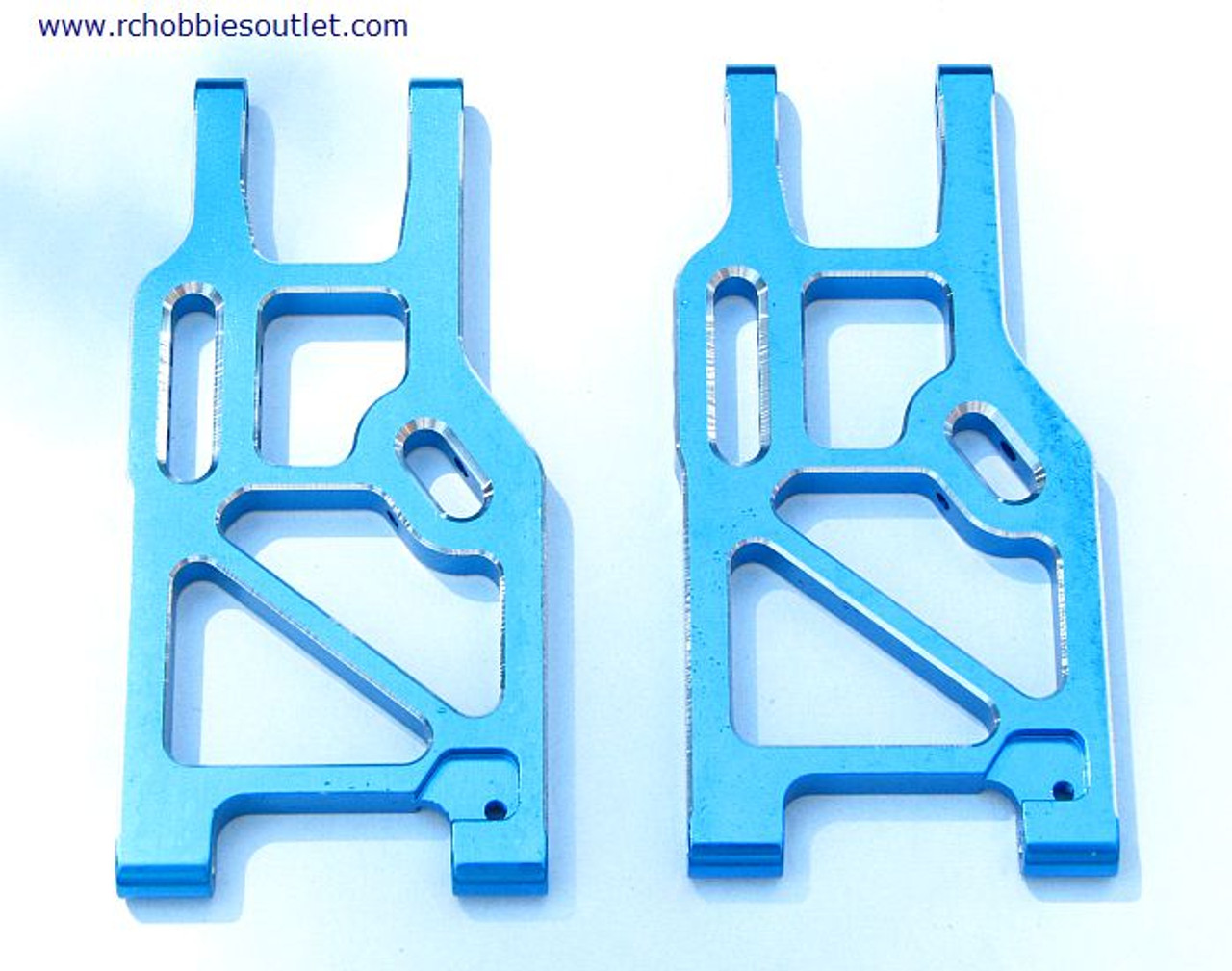 860003 Front Lower Suspension Arm (Al.) 2P Blue 760003