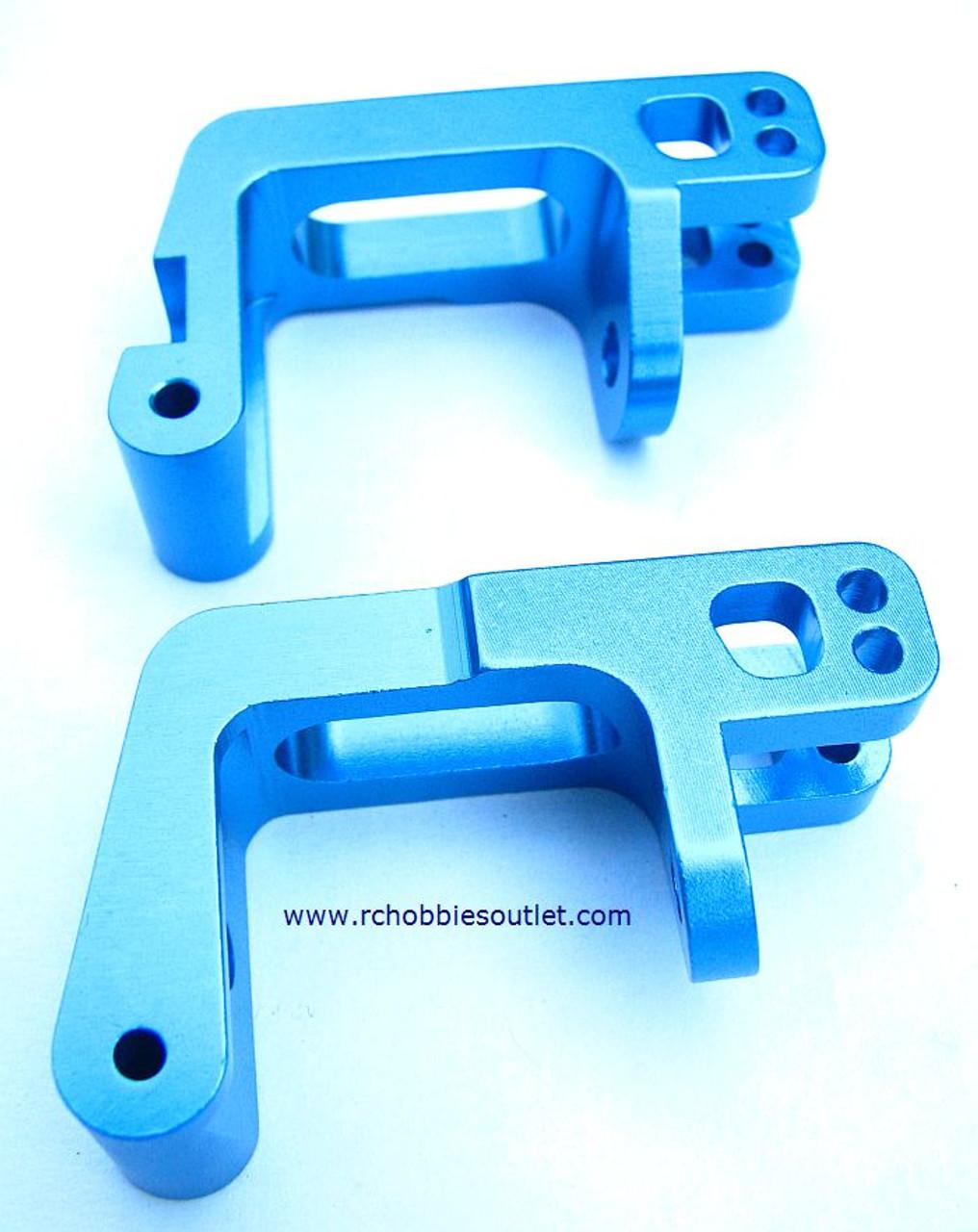 860009 Front Wheel Hub Carrier (Al.) Blue 760009 (60017)