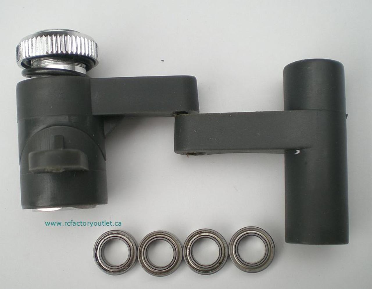 81063 Steering Arm 1/8 Scale HSP BAZOOKA TORNADO;  Redcat