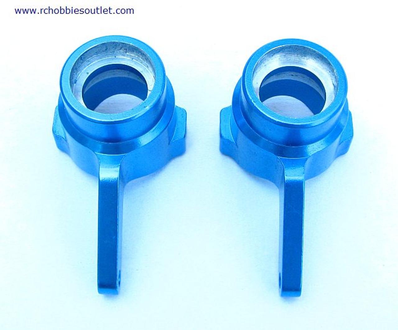 860010 Steering Hub Carrier(Al.) 2 pieces Blue 760010 (60018)