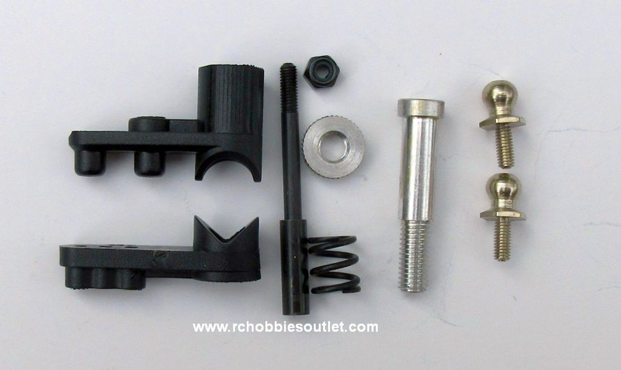 02025 Servo Saver Arm Complete A For 1/10 HSP , Redcat Racing