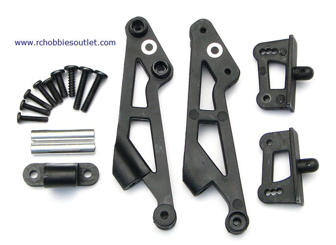 81061 WING BRACES, MOUNTS & WING POSTS HSP 1/8 SCALE BAZOOKA  ETC