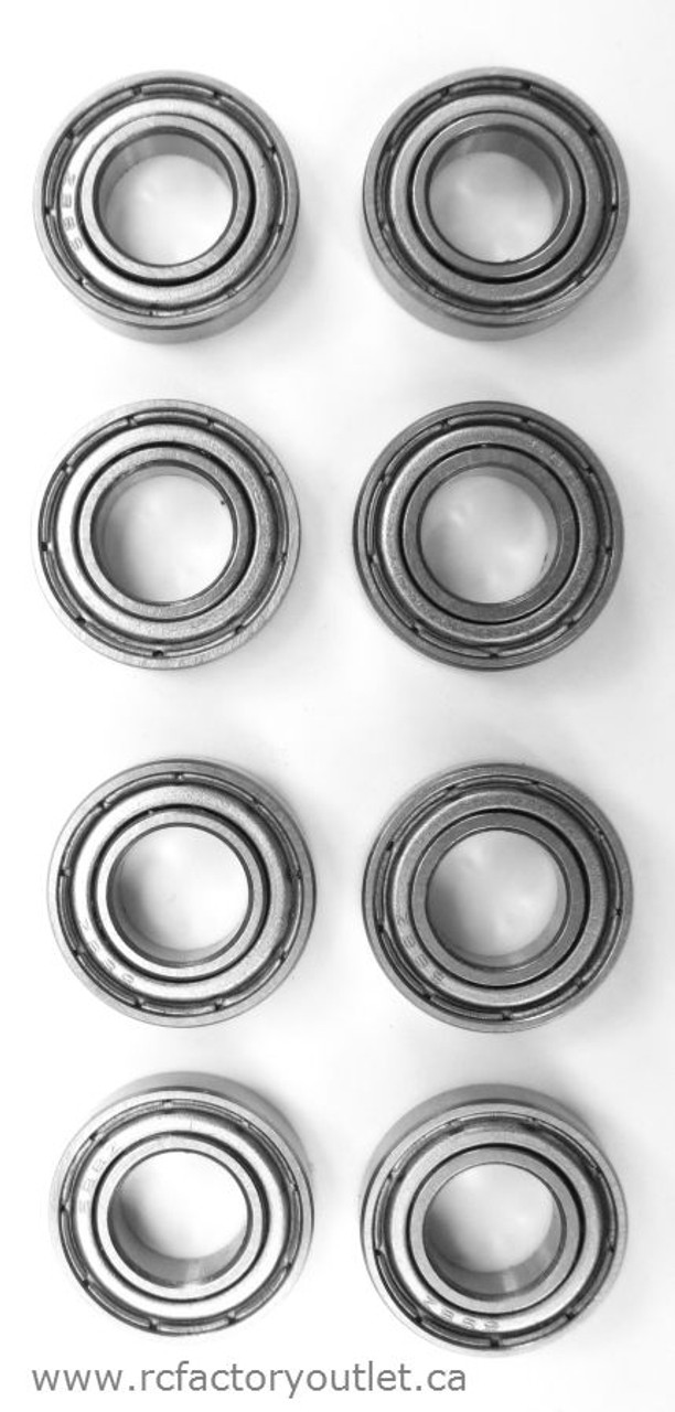 85763 Bearings 16*8*5mm  8 Pieces HSP, Redcat