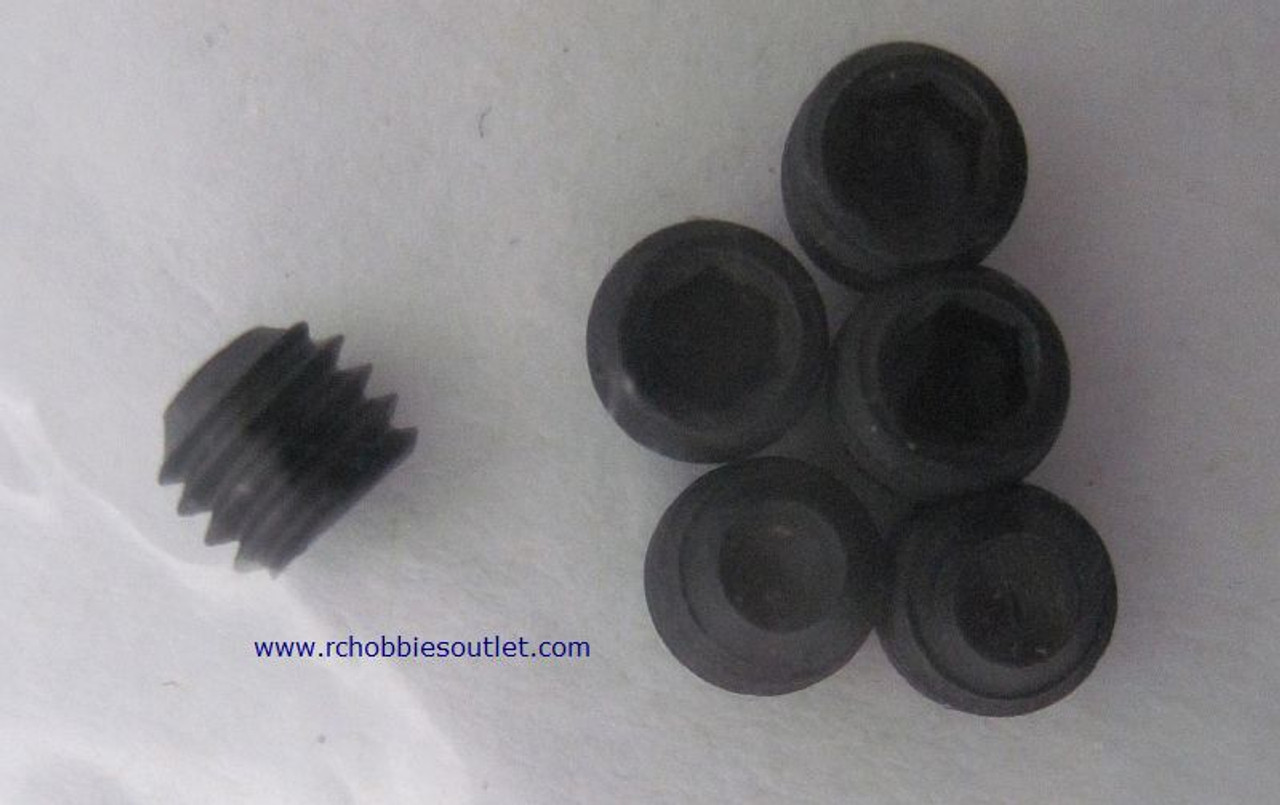 85834  Hex Head Grub Screws 5*4mm 6 Pieces