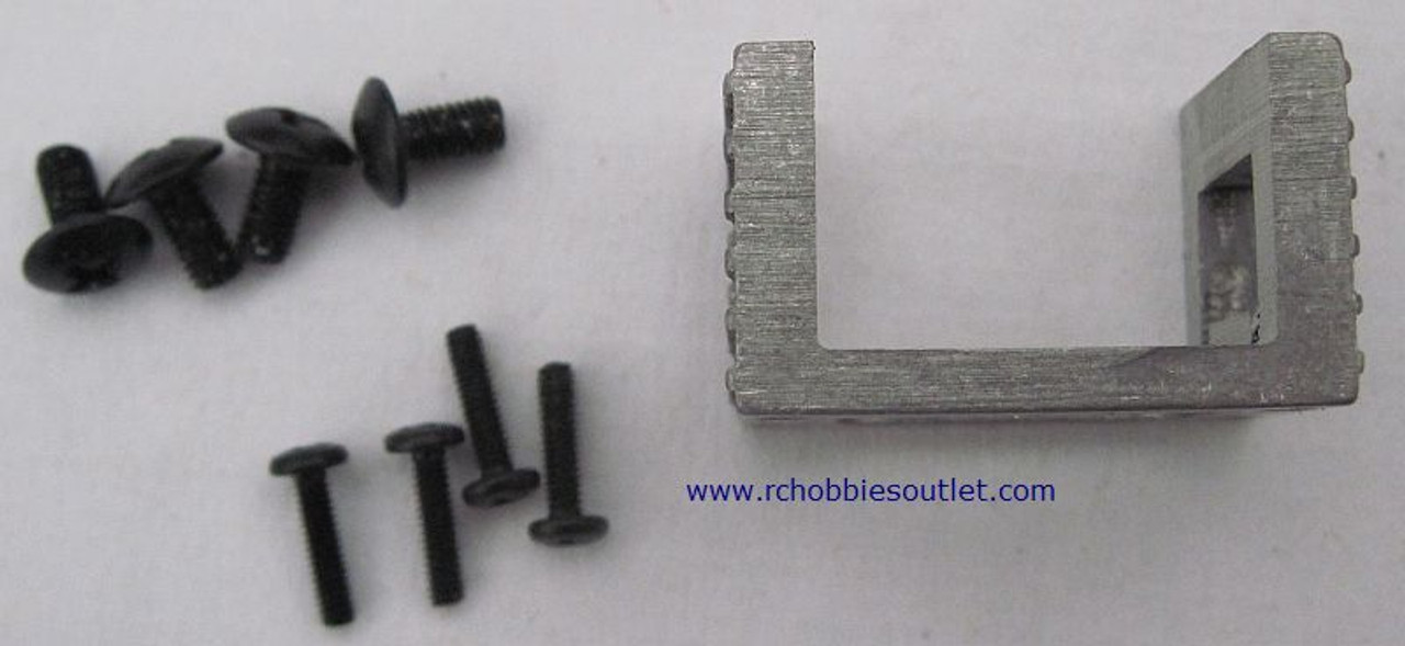 86043 ENGINE MOUNT WITH SCREW HSP 1/16 SCALE