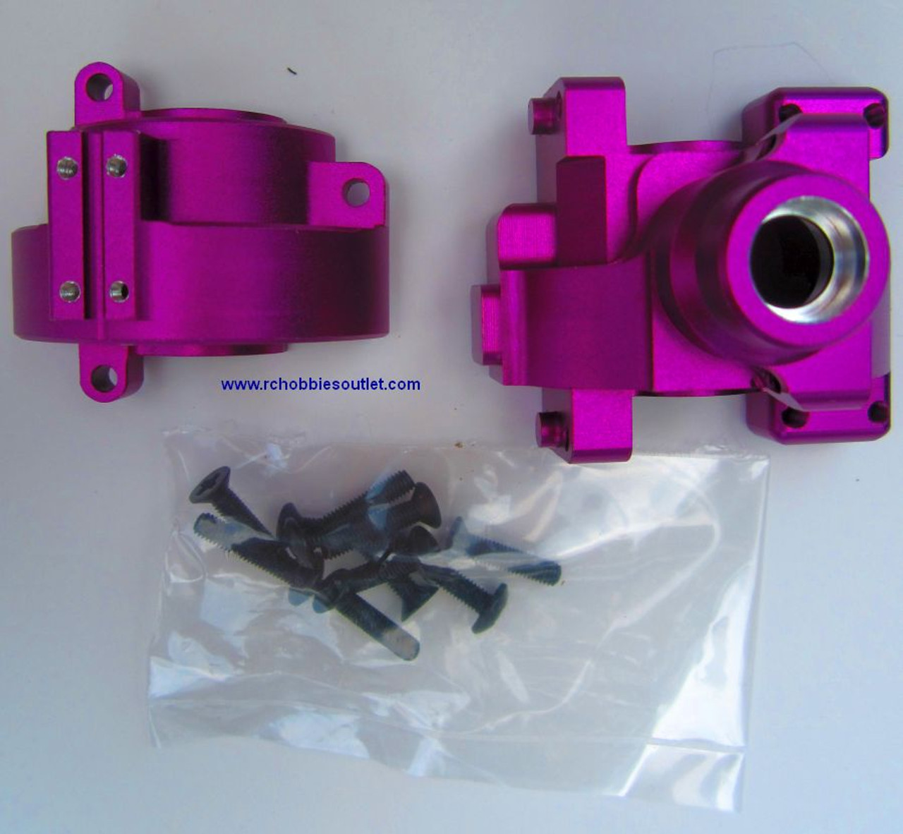102075 1/10 Scale Gear Box Upgrade Parts for  HSP  Redcat etc