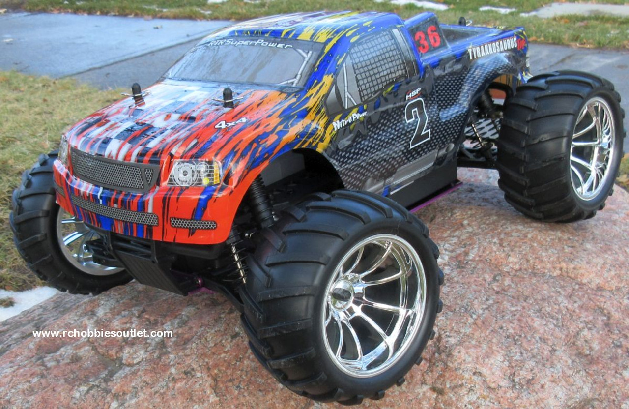 RC NITRO GAS TRUCK HSP 1/10 2.4G 4WD RTR  88042