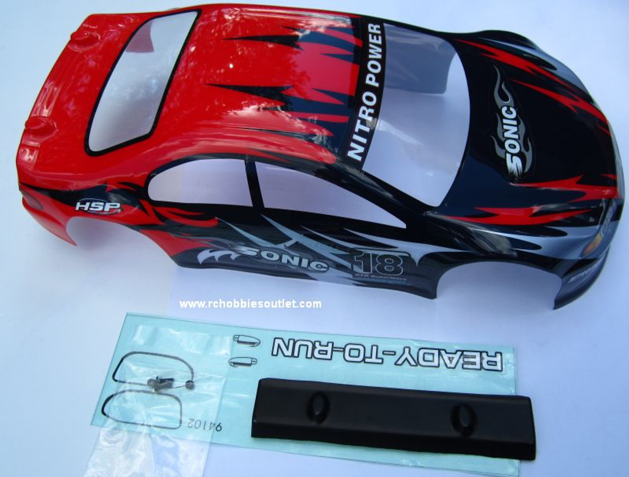 YX10222 HSP  RC CAR 1/10 SCALE BODY SHELL