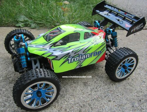 RC Brushless Electric Buggy / Car 1/16 Scale TOP LIPO  4WD RTR  18504