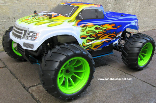 RC Nitro Gas Monster Truck HSP 1/10  4WD  RTR  2.4G  88038