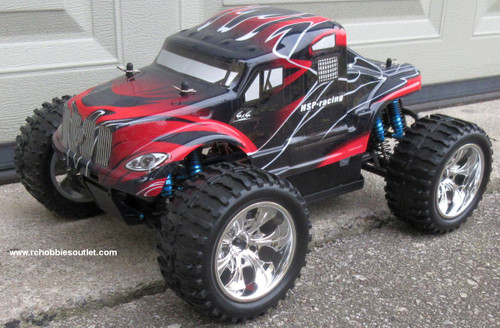 RC  Brushless Electric Truck 1/10 Scale  PRO TOP2  11.1 LIPO 2.4G  88033