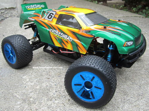 RC Truggy / Truck Brushless Electric 1/10 PRO LIPO 2.4G 12416