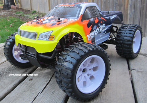RC TRUCK ELECTRIC 1/10 SCALE 4WD 2.4G OFF ROAD RTR  25188