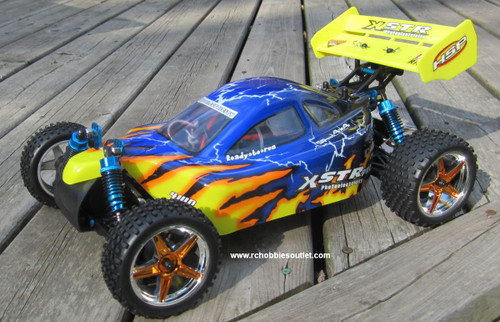 RC Buggy / Car  Brushless Electric HSP 1/10  XSTR-PRO LIPO  2.4G  Race 10716