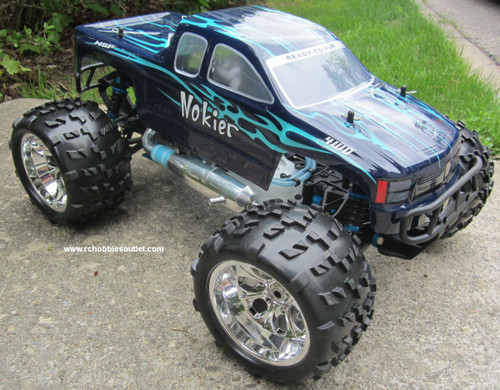 RC Monster Nitro Truck 1/8 Scale Radio Control RC 4WD 2.4G 94862-86298