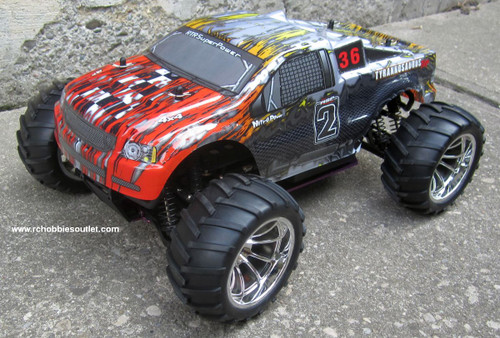 RC Nitro Gas Truck HSP 1/10 Scale 4WD  RTR 88043