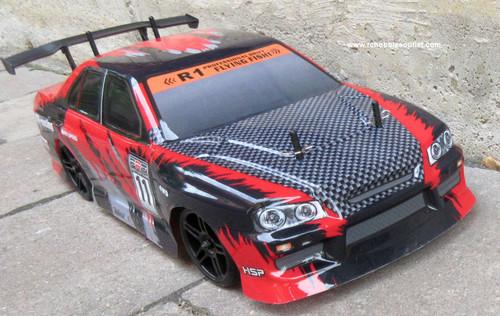 RC Drift Car Electric Radio  Control RTR 1/10 2.4G 4WD 12334