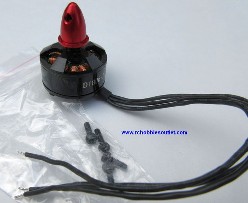 Brushless Motor  1806-2280KV for  Racing Drones  Clockwise Motor