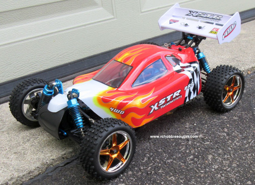 RC Buggy / Car  Brushless Electric HSP 1/10  XSTR-PRO LIPO  2.4G  10712