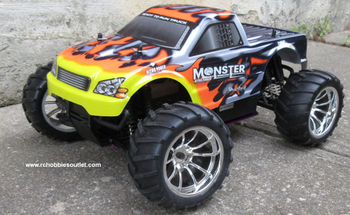 RC Nitro Gas Truck  HSP 1/10 Scale 4WD 2.4G RTR  25188-1