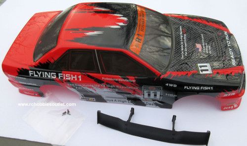12334   RC Car Body Shell 1/10 Scale